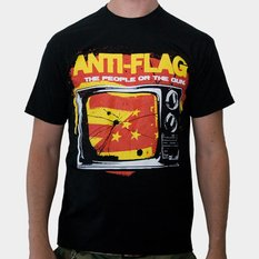 Herren T-Shirt Anti Flag (The People Or The Gun) - KINGS ROAD