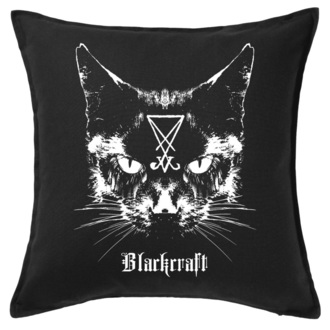 Kissen BLACK CRAFT - Lucifer The Cat Throw, BLACK CRAFT