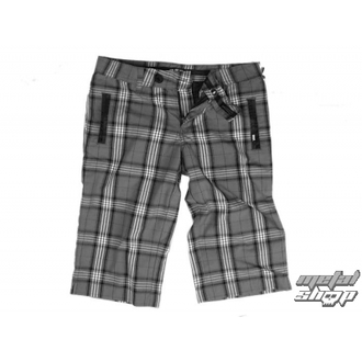 Damen Shorts  VANS - Plaid Shorties - Carbon Plaid