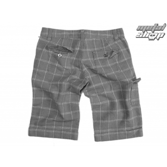 Damen Shorts  VANS - Linen Shorties - Carbon Plaid