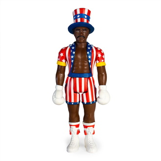 Figur Rocky - 4 ReAction - Apollo Creed, NNM, Rocky