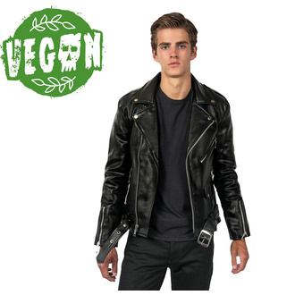 Lederjacke - Vegan Commando II - STRAIGHT TO HELL, STRAIGHT TO HELL
