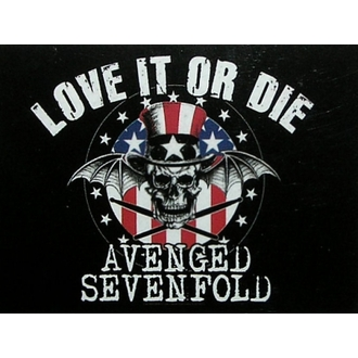 Fahne Avanged Sevenfold - Love it or Die - HFL0852