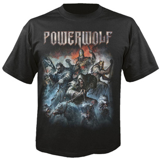 Herren T-Shirt POWERWOLF - Best of the blessed - NUCLEAR BLAST, NUCLEAR BLAST, Powerwolf
