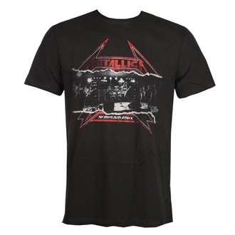 Herren T-Shirt METALLICA - YOUNG METAL - HOLZKOHLE - AMPLIFIED, AMPLIFIED, Metallica