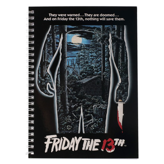Notizblock Friday the 13th - Movie Poster, NNM, Friday the 13th