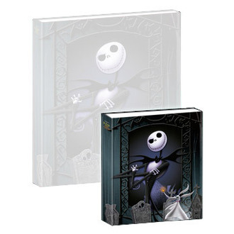 spielendes Notizbuch Nightmare Before Christmas - Musical Mini-Notebook Jack & Zero - NBX27005